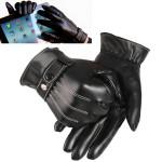 Touch Screen Handskar Vinter Motorcykel Mens Körning Varm Lyxig Motorcykel