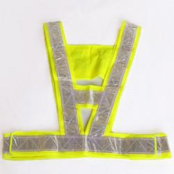 Trafik Säkerhet Vest Hög Säkerhet Synlighet Reflex Stripe Gear