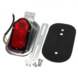 Universal Motorcycle Rear Tail LED Light Mount Plate