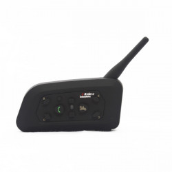V6-1200 Motorcycle 1000M Helmet with Bluetooth Function Interphone