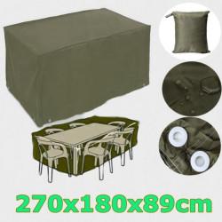 Vattentät Motorcykel Garden Rektangulära Rain Furniture Set Cover Shelter
