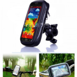 Vandtæt Motorcykel Styr Mount Holder til Samsung Galaxy I9200