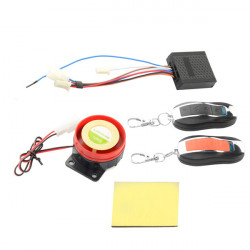 Waterproof Motorcycle Scooter Anti-theft Security Remote Alarm Lock