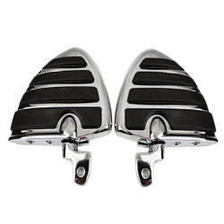 Wing Style Motorcycle Foot Pegs For Yamaha V-STAR Virage V-MAX