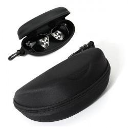 Zipper Briller Solbriller Hard Case Box Black