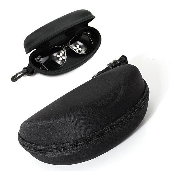 Dragkedja Eye Solglasögon Hard Case Box Black Motorcykel