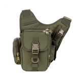 Army Fans Outdoor Andai Shoulder Diagonal Pockets Versatile Bag Men's Bags