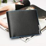 BOGESI Südkorea Edition eiserne Klammer Farben Rand Geldbörse aus Leder Herrentaschen