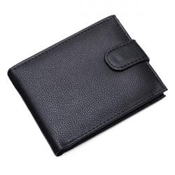 Affärs Män Läder Kort Plånbok Kreditkortshållare