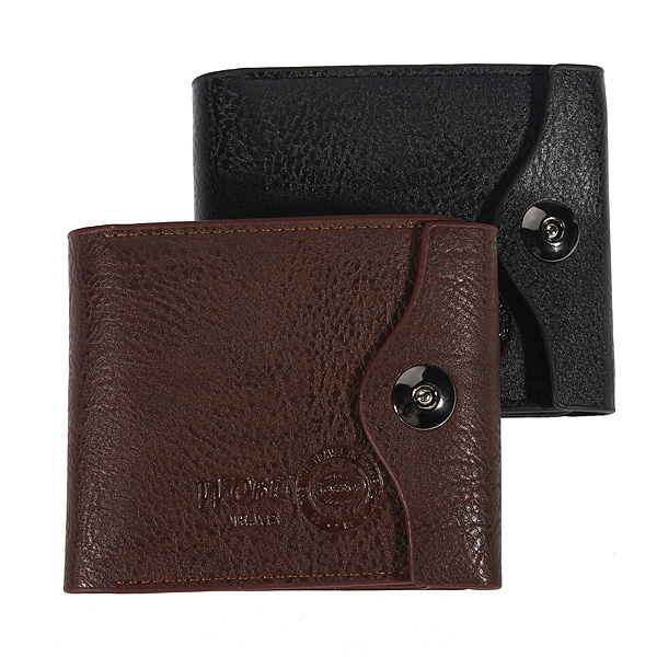 Business Neu verursachende Männer PU Leder Geldbeutel Kartenhalter Mappen Herrentaschen