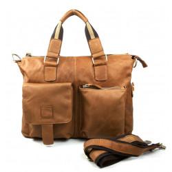 Echtes Leder Mann Tasche Schultertasche Herren Aktentasche Messenger Bags