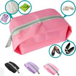 Waschwasserdichte Reisetasche Zipper Portable Storage Bag Schuhtasche