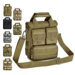 Mænd Kvinder Army Fans Taktisk Single Shoulder Tasker Håndtasker Herretasker