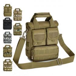 Mænd Kvinder Army Fans Taktisk Single Shoulder Tasker Håndtasker