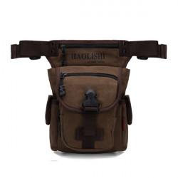 Mænd Kvinder Casual Canvas Udendørssport Waist Bag Camera Bag