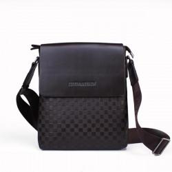 Mens Ein Schulter Neue Muster beiläufige echtes Leder Tasche