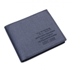 Men's Wallet Smooth Pattern Design Wallet Leather Purse