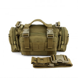 Multifunktions Shoulder Män Tactical  Kamouflage Axelväska
