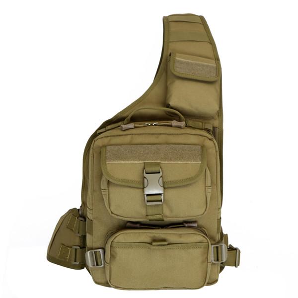 Außen Männer Tactical Messenger Bag Camouflage Brusttasche Herrentaschen