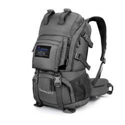 Udendørs Polyester 35L 40L Bjergbestigning Tasker Med Kraftfuld Plug-In System