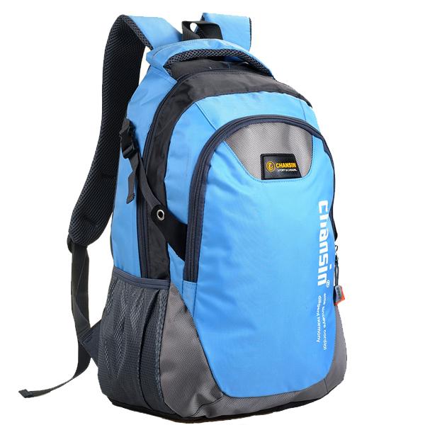 Im Freien Computer Rucksack Schüler Schule Umhängetasche wasserdichter Pack Herrentaschen