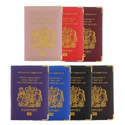 PU Passmed Ticket ID-kort Beskyddandet Täcker Resefodral