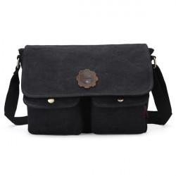 Retro Vintage Men Messenger Bags Casual Male School Satchel Shoulder Bags