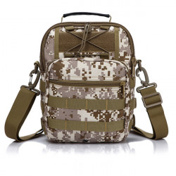 Tactical Camping Outdoor Sport Brusttasche Crossbody Umhängetasche