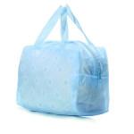 Transparent Printed Floral Bathing Cosmetic Waterproof Bag Makeup Bag Men's Bags