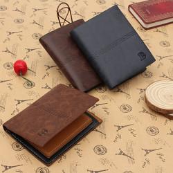 Vertikal Portemonnaie Male Geldbörsen Soft ID Karten Kasten