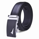 120CM Mens Belt Peritoneal Second Layer Leather Business Automatic Alloy Buckle Men's Clothing