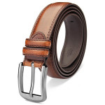 140CM Mens Genuine Extended Long Durable Pin Buckle Belts Men's Clothing