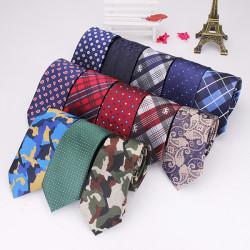 2015 Men Tie Vintage British Style Polyester Silk Businessman Accessories