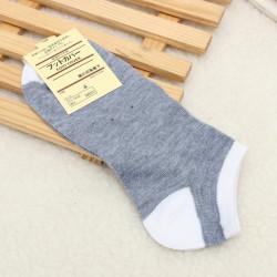 6 Farben Herren atmungsaktive Softbaumwollsport Streifen Socken