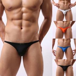 6 Färger Män Soft Seamless Triangle Underkläder