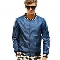Herbst Casual Man Jacken dünne Outwear Mantel plus Größe S XL