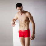 Cailan Kailin Men's Solid Color Cotton Slim Underwear Men's Clothing