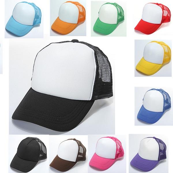 DIY Custom Logo Hip Hop Hatt Reklam Cap Herrkläder
