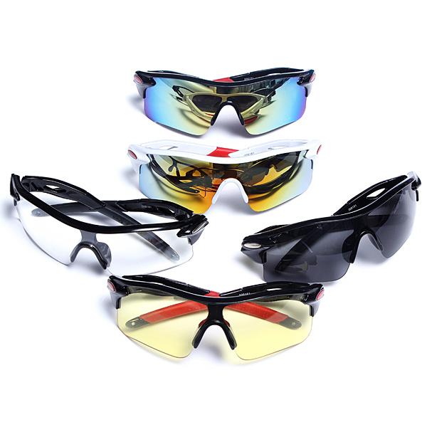 Fahion Mens stilvollen Sport Sonnenbrille 5 Farben Herrenbekleidung