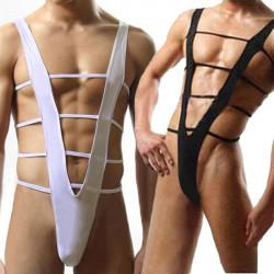 Arbeiten Sie reizvollen Männer des Jungen Shorts Gymnastikanzug Strumpfhose Bikini Brief Unterwäsche