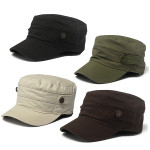 Hot Jungle Camo Camouflage Army Military Cadet Cotton Cap Sun Hat Men's Clothing