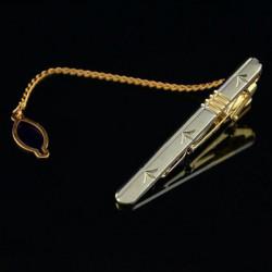 Mænd Bamboo Leaf Smykker Business Gift Lapel Slips Clip