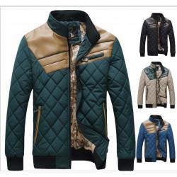 Men Casual Cotton Warm Up Jacken Oberbekleidung Long Sleeve Mantel