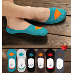 Men Cotton Casual Odor-proof Ankle Invisible Silicon Male Boat Socks Men's Clothing