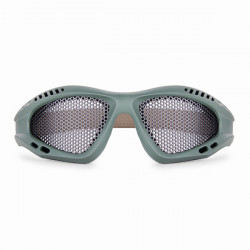 Män Iron Noll Ballistic Goggles Shot Tactical Impact Mesh Glasögon