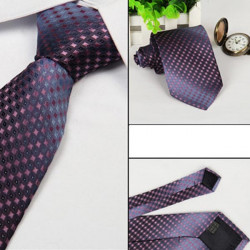 Mens Arrow Type Business Jacquard Dot Pattern Ties
