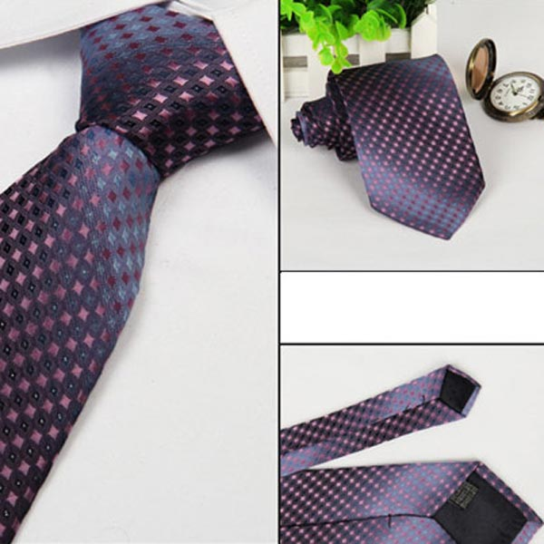 Mens Arrow Type Business Jacquard Dot Pattern Ties Men's Clothing