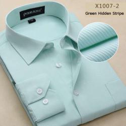 Der zufälligen Männer Bussiness Hemd Slim Fit Langarm Shirt 14 Art multi Farben