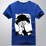 Herre Casual Multi Color Tees Funny Joker T Shirt Herretøj