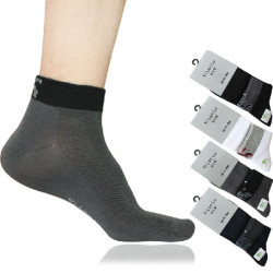 Mens Classic Business Socks Solid Color Socks